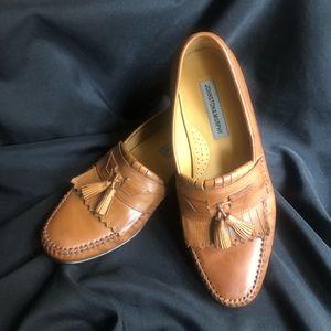 Johnston & Murphy Tassel Kiltie Loafers Size 10.5M
